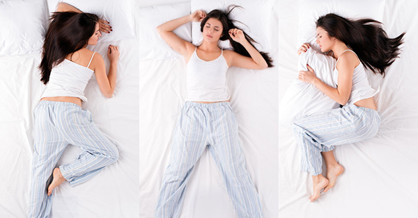 Woman's Sleeping Positions Reveal Their Personality
